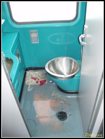 Hygiena ve vlaku